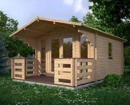 Tuinhuizen Te Koop : Blokhutten en tuinhuisjes blokhutwereld